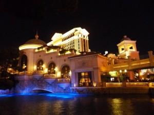 Vegas bei Nacht.