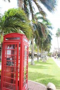 Stadt Aruba.